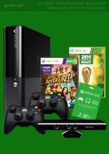 Zestaw 1 Konsola Xbox 360 4GB + Kinect