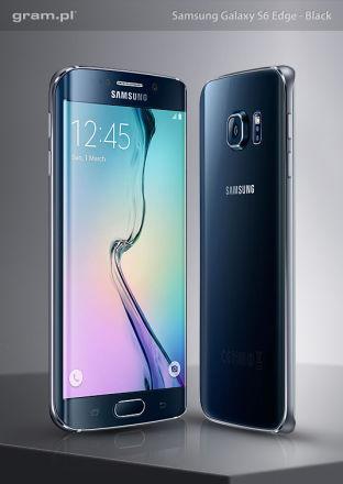 Samsung Galaxy S6 Edge Black 32GB + ładowarka indukcyjna