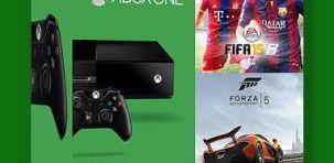 Konsola XBOX ONE + FIFA 15 + FORZA 5 + bonusy + darmowa dostawa!